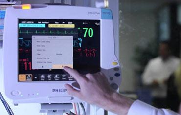 40 Patient Monitors in ICU
