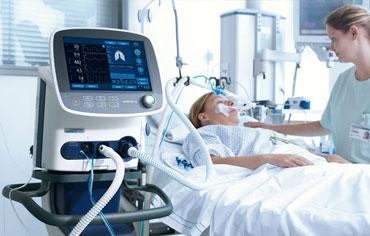 12 Ventilators in ICU